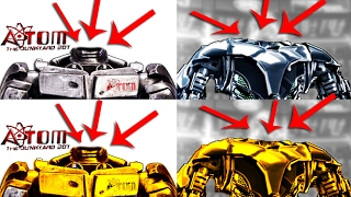 Real Steel WRB ATOM Severed Head Zeus Severed Head Explosion Head ROBOTS BOXING Живая сталь