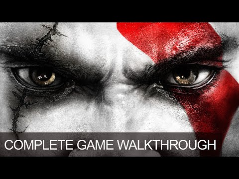 God Of War 3 Complete Game Walkthrough Full Game Story