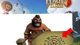 CLASH OF CLANS: TH4 MINI DONUT HYBRID WAR BASE!!