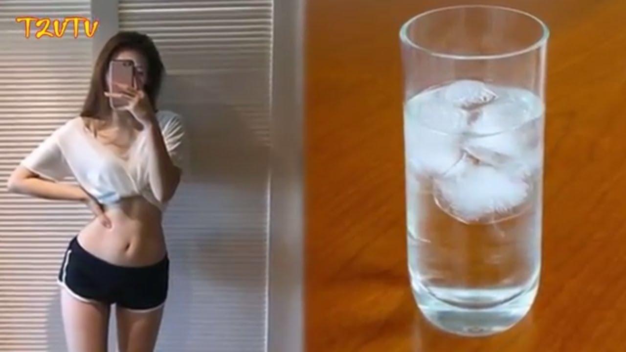 Uống nước đá lạnh theo cách này giảm ngay 5kg/tuần con gái không biết tiếc cả đời