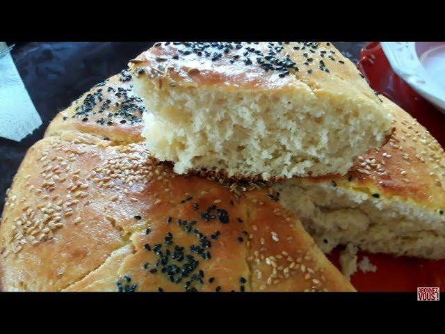 #10مائدة إفطار رمضانية 2018: سريعة التحضير : خبز الدار السحري +شوربة فريك بكريات اللحم + فلافل