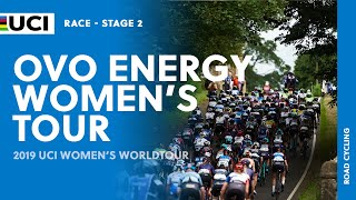 2019 UCI Women's WorldTour – OVO Energy Women's Tour – Highlights Stage 2