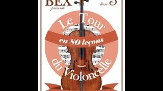 """Accompagnement leçon 53 """"Les Auvergnats"""" Livre 3 """" Le tour du violoncelle en 80 leçons"""