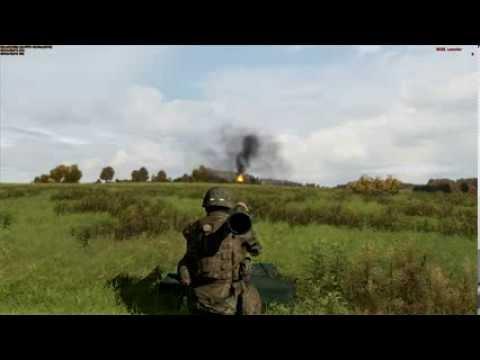 BTR 90 vs M136