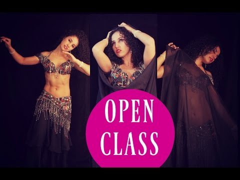 Belly dance open class: all about piston drops