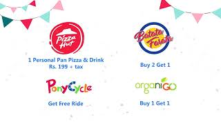 FREE VOUCHERS by Pizza Hut, Dermalogica, Foodpanda, iflix & others | Telemart Birthday Bash Sale
