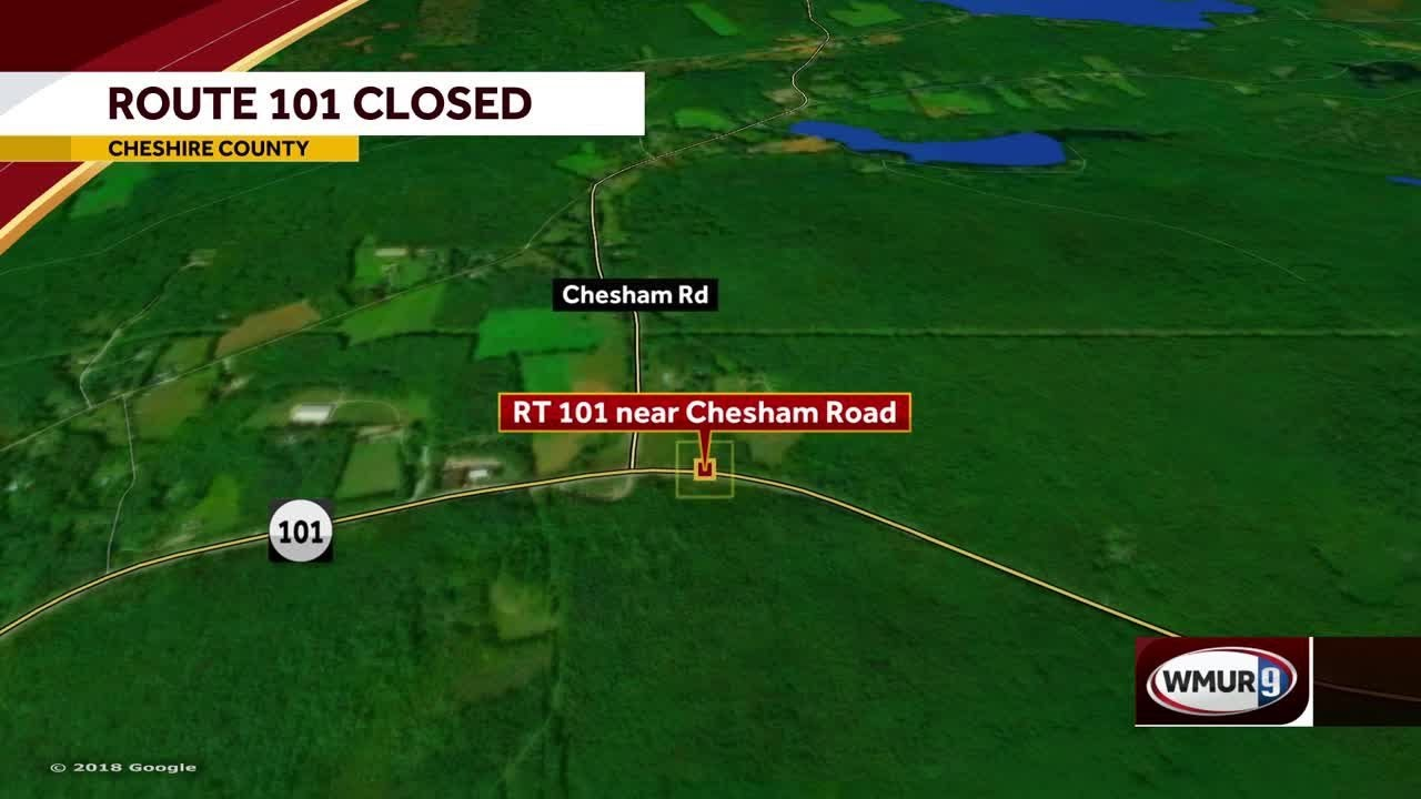 Route 101 closed after crash in Dublin, NH on interstate 95 map, nh highway map, route 2 map,