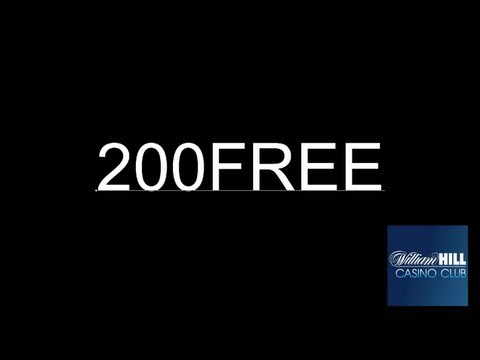 William Hill Casino-Club Gutscheincode: 200FREE