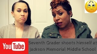 Seventh Grader shoots himself at Jackson Memorial Middle School