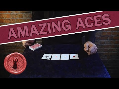 WORLD BEST card trick routine / My take on the McDonald Aces - My best ace routine yet