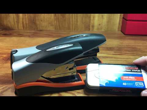 Swingline Optima 40 & 40 Compact Staplers Review and Comparison (Coin Related)