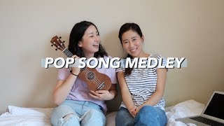 Ukulele Pop Song Medley w/ katie rejoice 🎶 (Ed Sheeran, Adele, Miley Cyrus and more)