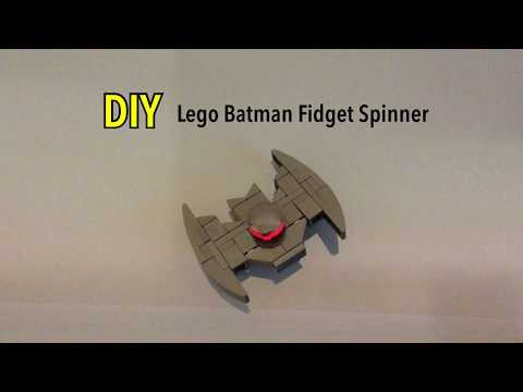 DIY Lego Batman Fidget Spinner 2