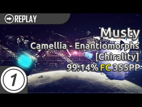 Musty   Camellia - Enantiomorphs [Chirality] 99.14% FC   355pp #1