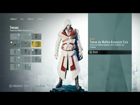 Assassin's Creed Unity:comment débloquer la tenue de Ezio