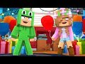 THROWING AN EPIC HOUSE PARTY! Minecraft Home Alone | Little Kelly
