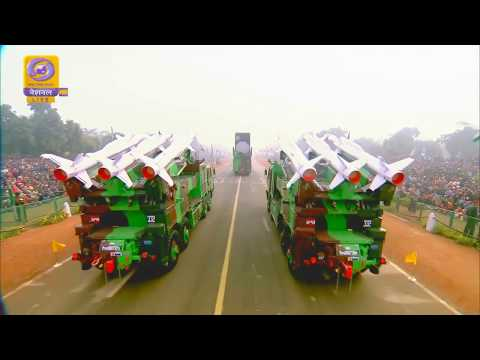India Republic Day Parade 2018  - Military Assets