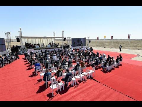 مشاهد تاريخية من زيارة البابا إلى مدينة أور الأثرية بجنوب العراق  - نشر قبل 2 ساعة