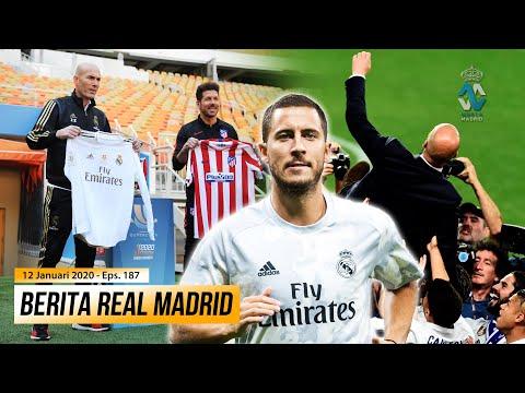 Final Kesembilan Zidane Bersama Real Madrid * Hazard Akan Kembali Di Laga Menghadapi Atlético Madrid