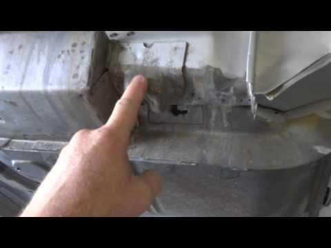 1964 Impala floor pan removal video 1