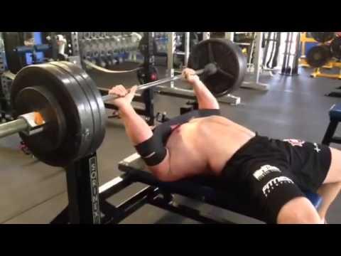 Derek Poundstone Bench 8-7-14