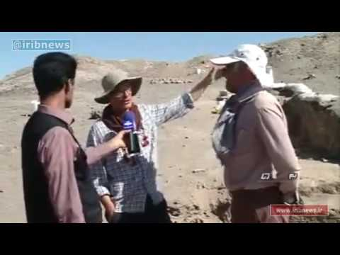 Iran Discovers 9000 years Ancient ruins, Kerman province كشف آثار باستاني بم كرمان ايران