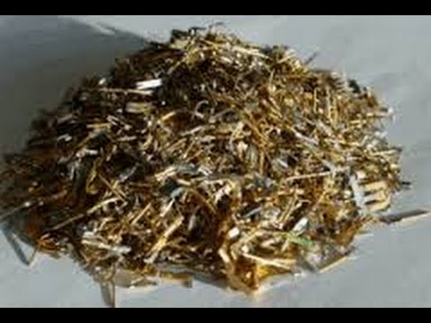 Easy Gold Recovery From Gold Plated Pins