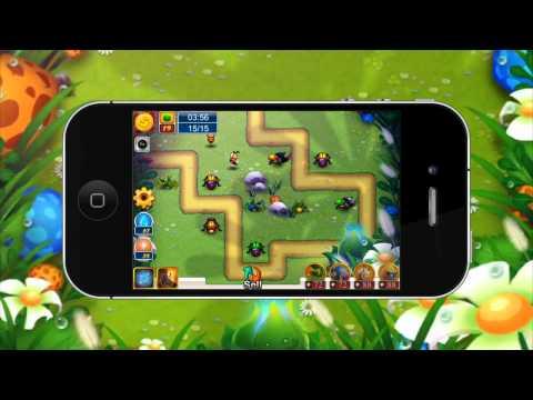 Bugs TD - Iphone Gameplay HD