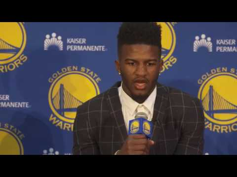 2017-6-23 Golden State Warriors  Jordan Bell