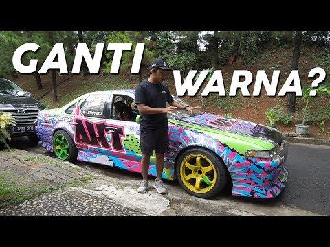 Ngecat Nissan Cefiro Part 1 #CARVLOG INDONESIA