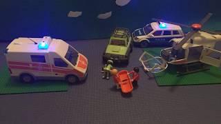 Stop Motion Playmobil Car Crash