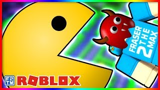 Gobbling up the Ghosts! 👻 Roblox Pac-Blox