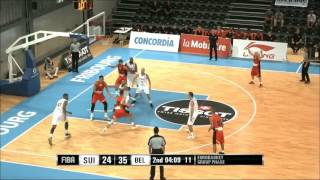Highlights: Switzerland vs Belgium (FIBA Eurobasket Men 2017 Qualifiers, Group A)
