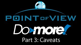 How To Use Point of View with the Do-more Series Controllers - Part 3
