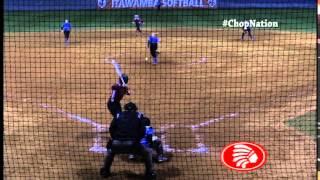 icc softball vs co lin game two