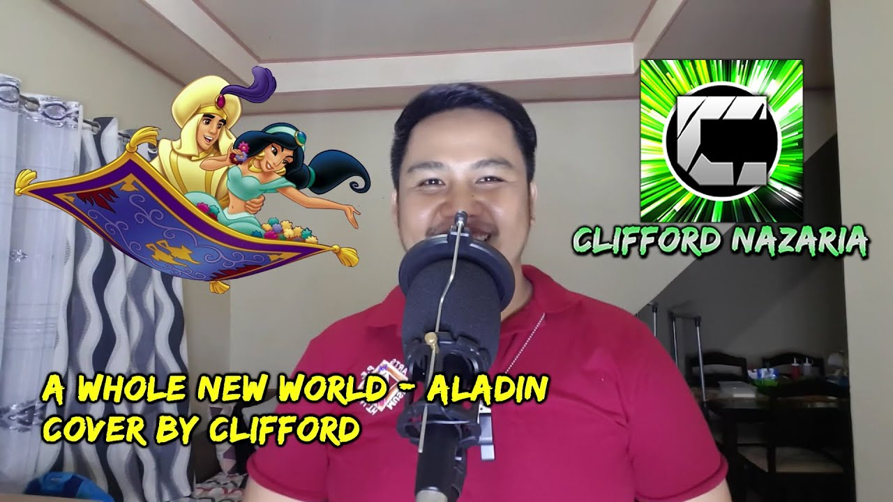 A Whole New World - Aladin Sound Track Zayn Malik and Zavia Ward (Clifford Cover)