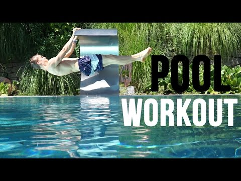 Pool Workout Calisthenics Style [fullHD]