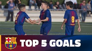 FCB Masia - Academy: Top 5 goals 4-5 November