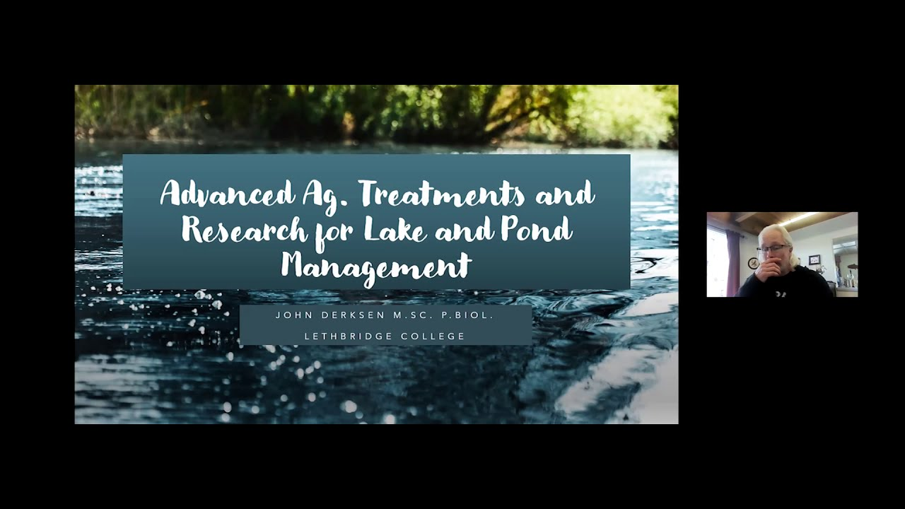 Treatment and Ongoing Research for Lake and Pond Management