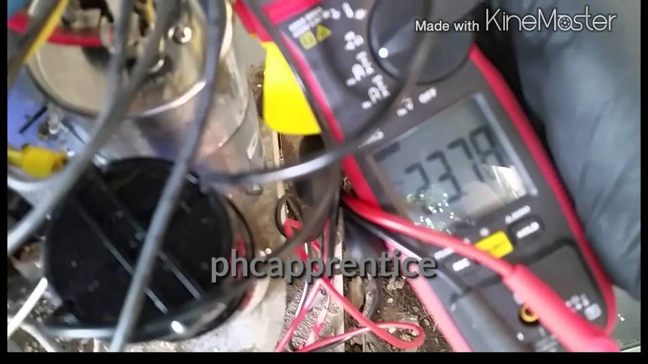 Compressor pulling high amps