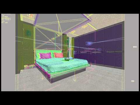 CGI Room Rendering - Version 2