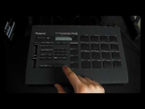 Roland R-5 Human Rhythm Composer DEMO