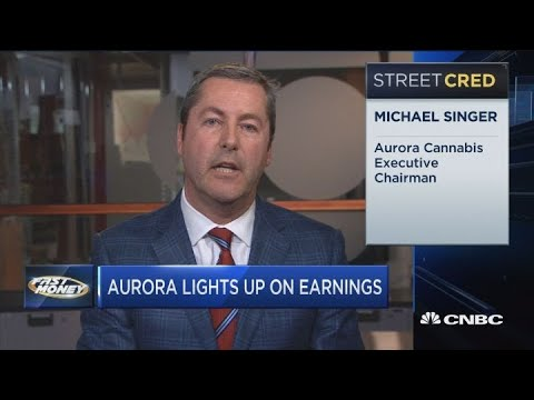 Aurora Cannabis executive chairman weighs in on the company's latest earnings