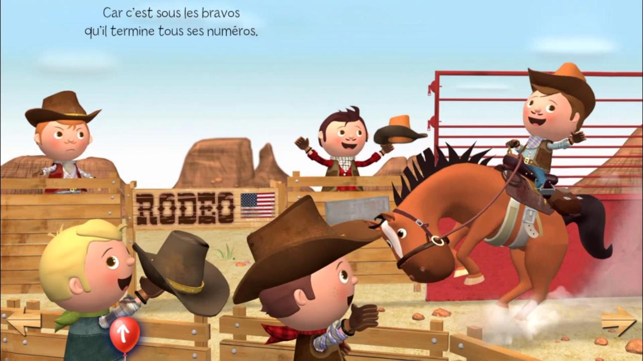 P Tit Heros Le Cowboy Livre Interactif