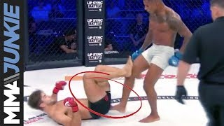 Baixar Bellator London: Illegal butt kick leads to point deduction; Alfie Davis reacts