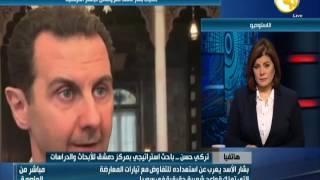 تركي حسن : الرئيس السوري بشار الأسد أدان أداء  الإعلام الغربى الموجه ضد الدولة السورية
