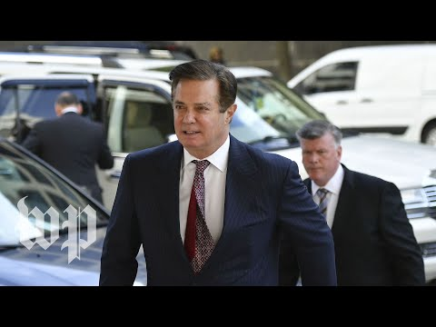 Manafort guilty on 8 counts of tax and bank fraud, with jury deadlocked on other 10