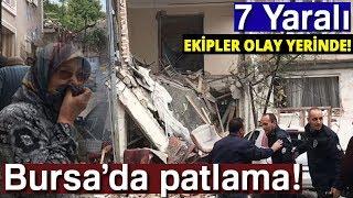 Sondakika I Bursa Osmangazi'de Doğalgaz Patlaması, Yaralılar Var