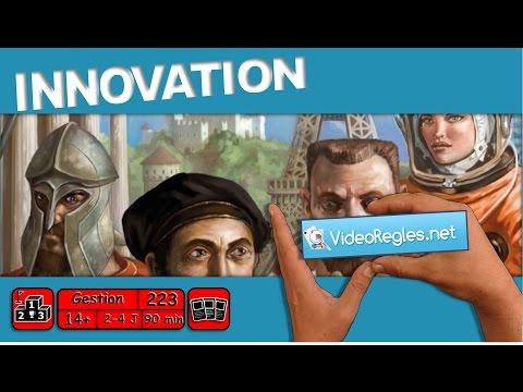 """La vidéorègle du jeu """"Innovation"""" par Yahndrev (#223)"""