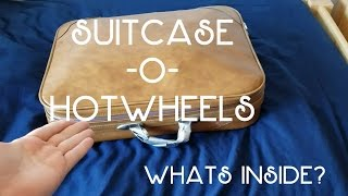 Whats Inside my Suitcase of HotWheels?